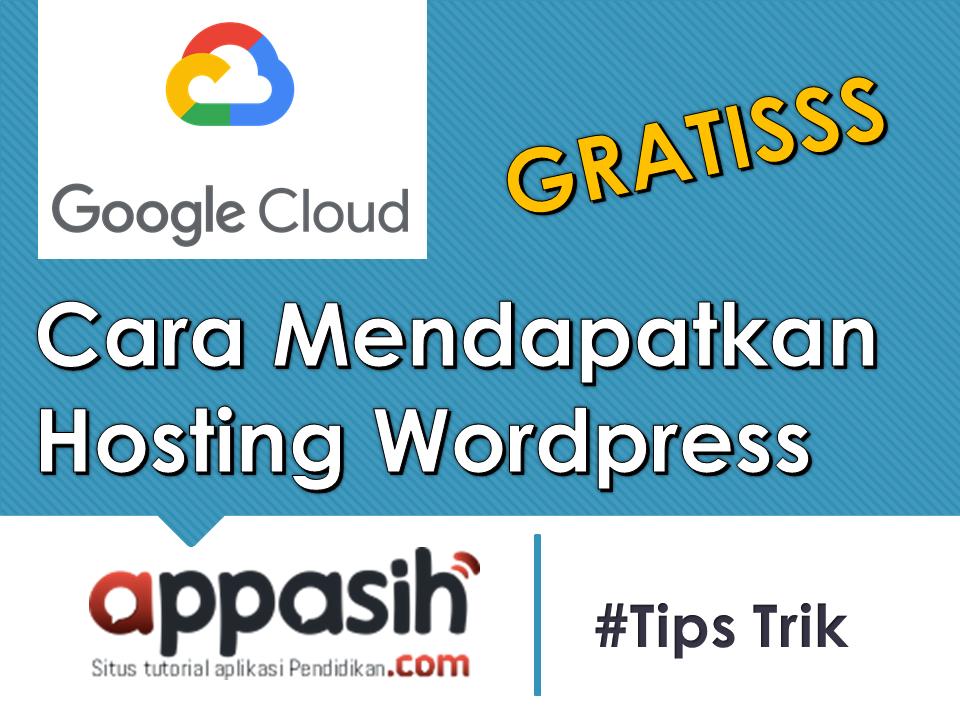 mendapatkan hosting wordpress gratis